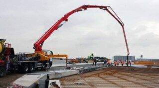 Заказ бетона бетононасосом бетон курская область