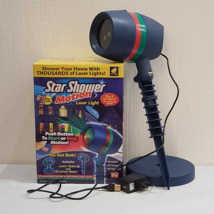 star shower laser light спб